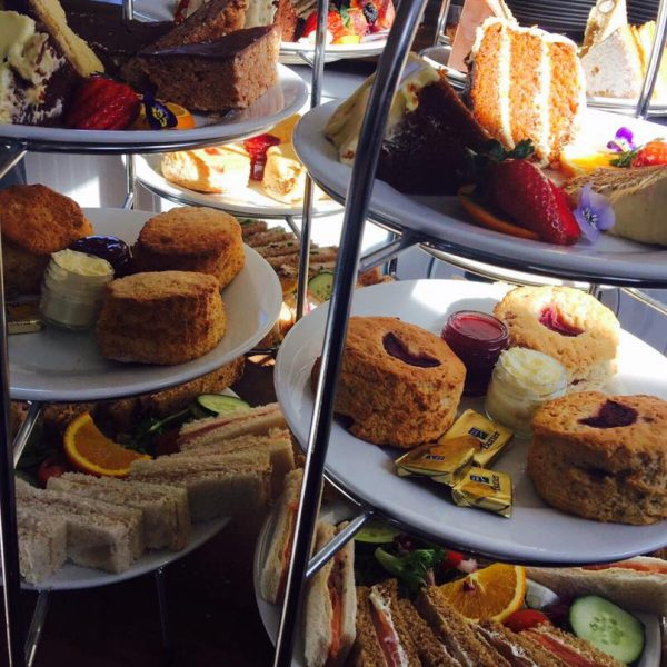 Two afternoon teas